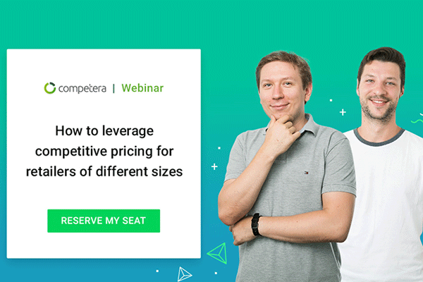 A live webinar with Competera Pricing Managers on how to leverage competitive pricing for retailers of different sizes.